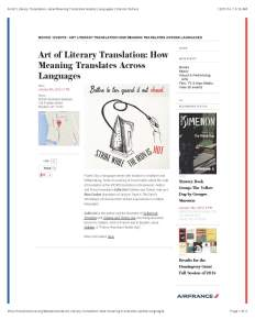 Art of Literary Translation- How Meaning Translates Across Languages | French Culture_Page_1