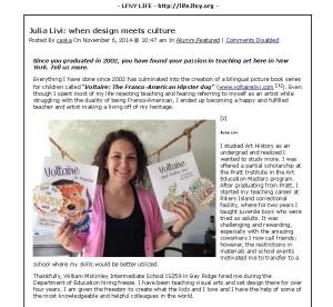 LFNY LIFE » Julia Livi- when design meets culture » Print_Page_1